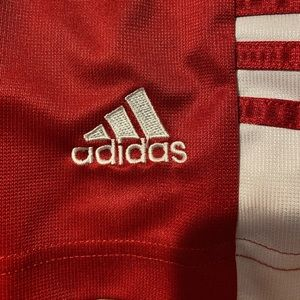 Adidas soccer shorts. Asian size medium (see tag)